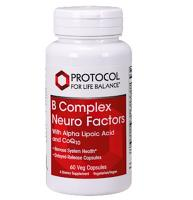 B Complex Neuro Factors 60 vegcaps
