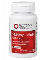 5-Methyl Folate 1000mcg 90 tabs