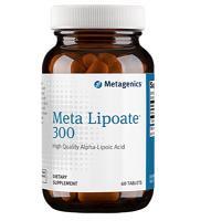 Meta Lipoate 300 mg 60 tabs
