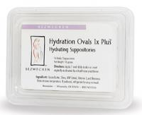 Hydration Ovals 1X Plus 16 suppositories