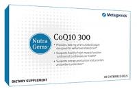 NutraGems CoQ10 300 30 Chewable
