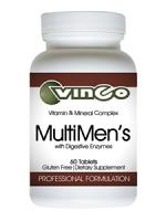 MultiMen's with Digestive Enzymes 60 tabs