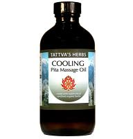 Cooling Body Massage Oil - Pitta Balancing - CO2 - Certified Organic