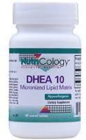 DHEA 10 mg Micronized Lipid Matrix 60 Scored Tabs