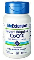 Super Ubiquinol CoQ10 w/ BioPQQ 30 gels