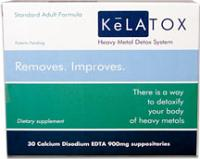 KeLATOX EDTA Suppositories - Professional Strength (1200mg - 30ct)