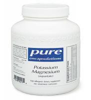 Potassium Magnesium (aspartate) 90/180 vcaps