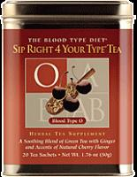 Sip Right 4 Your Type Tea O